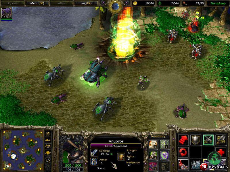 Доп. информация: Патч до версии 1,23a для Warcraft III Reign of Chaos