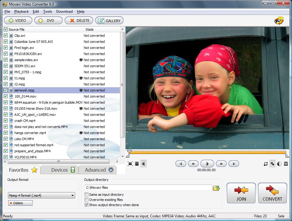 Скачать бесплатно торрент Movavi Video Converter 6.